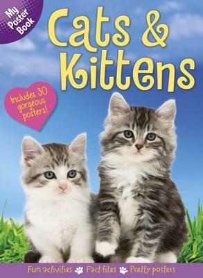 Cats & Kitens Poster Book (Hardback)