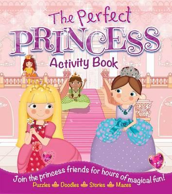 Princess Activity Book (Paperback)