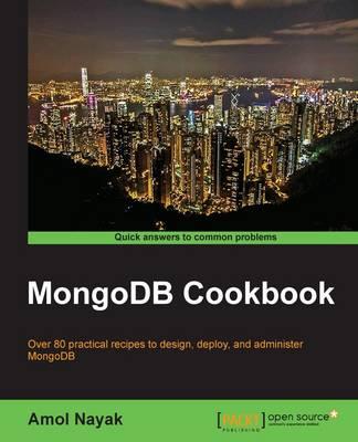 MongoDB Cookbook (Paperback)