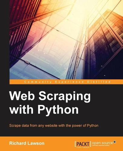 Web Scraping with Python (Paperback)