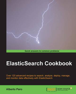 ElasticSearch Cookbook (Paperback)