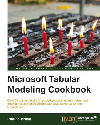 Microsoft Tabular Modeling Cookbook (Paperback)