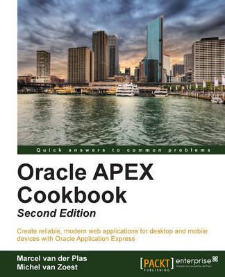 Oracle APEX Cookbook - (Paperback)
