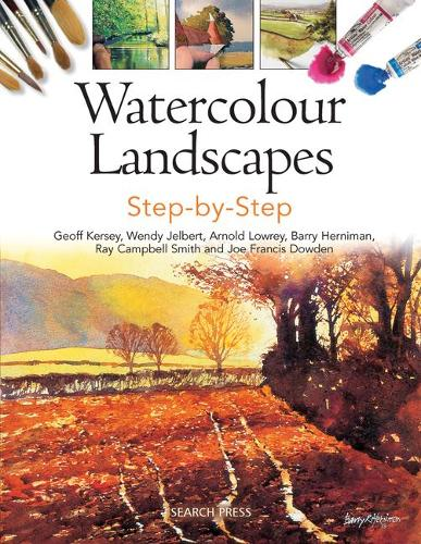 Watercolour Landscapes Step-by-Step - Painting Step-by-Step (Paperback)