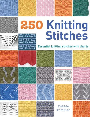 250 Knitting Stitches: Essential Knitting Stitches with Charts (Paperback)