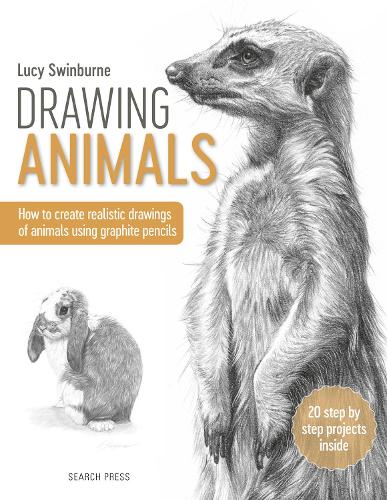Drawing Animals: How to Create Realistic Drawings of Animals Using Graphite Pencils (Paperback)