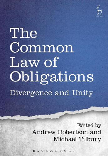The Common Law of Obligations: Divergence and Unity (Hardback)