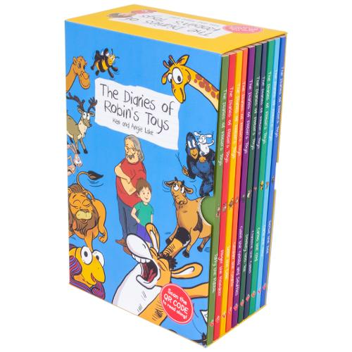 The Diaries Of Robin's Toys: 10 Book Set - The Diaries of Robin's Toys