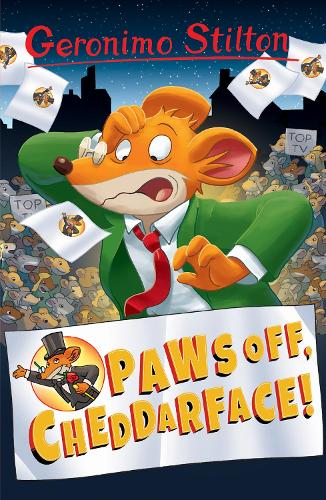 Paws Off, Cheddarface! - Geronimo Stilton (Paperback)