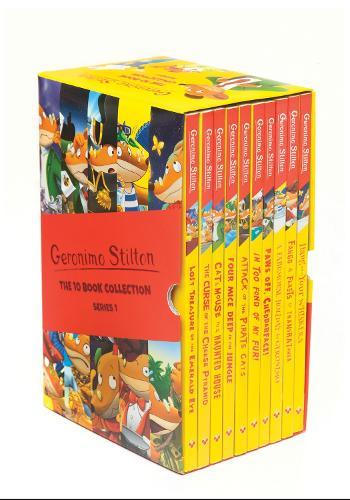 Geronimo Stilton: The 10 Book Collection (Series 1) - Geronimo Stilton