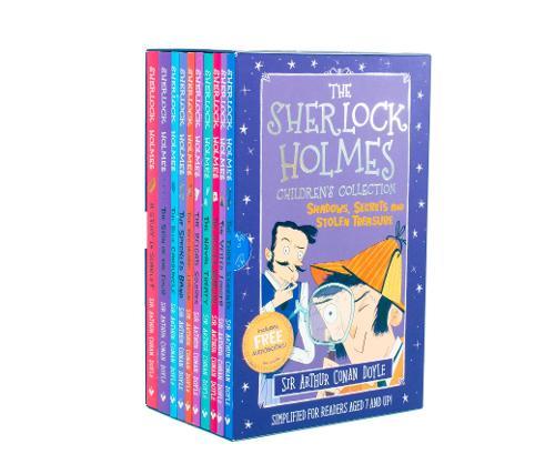 The Sherlock Holmes Children's Collection: Shadows, Secrets and Stolen Treasure - The Sherlock Holmes Children's Collection