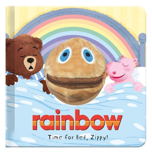 Time for Bed, Zippy: Rainbow Hand Puppet Fun (Hardback)