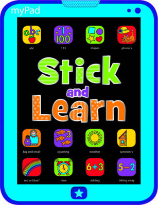 MyPad: MyPad Stick and Learn (Paperback)
