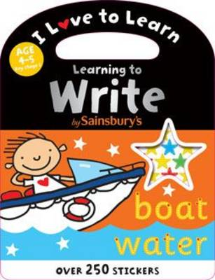 Learning to Write - I Love to Learn (Paperback)
