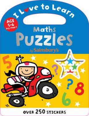 Maths Puzzles - I Love to Learn (Paperback)