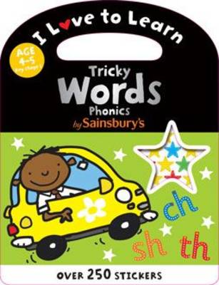 Phonics Tricky Words - I Love to Learn (Paperback)