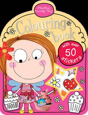 Camilla the Cupcake Fairy Colouring Book - Mini Colouring Books with Stickers (Paperback)