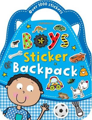 Boys Sticker Backpack - Shaped Sticker Books (Paperback)