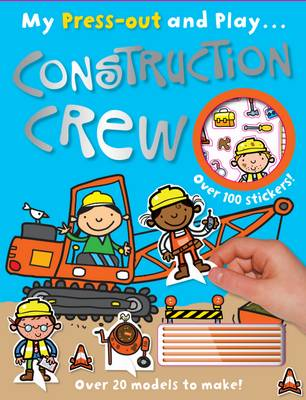 Construction Crew My Press out and Play (Paperback)