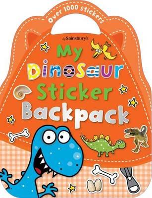 My Dinosaur Backpack - Shaped Sticker Books (Paperback)