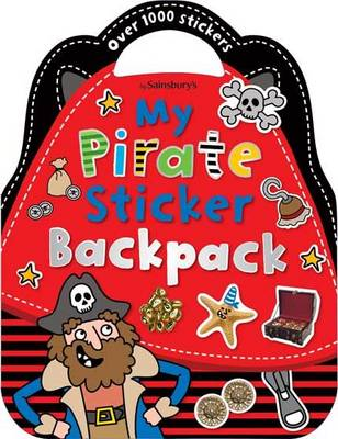 My Pirate Adventure Backpack - Shaped Sticker Books (Paperback)