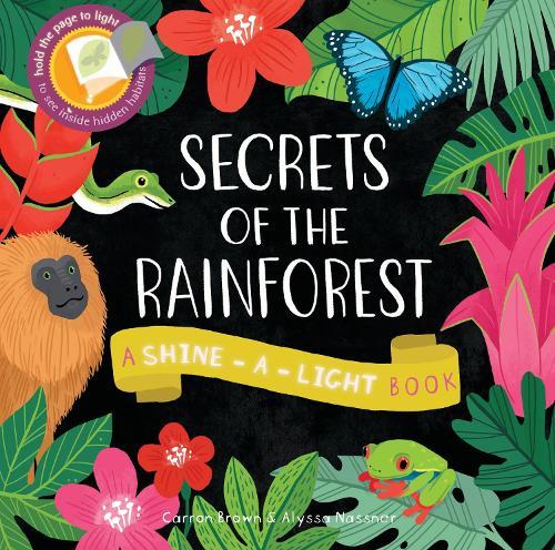 Secrets of the Rainforest: A Shine-a-Light Book (Paperback)