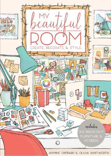 My Beautiful Room: Interior Design Workbook (Paperback)