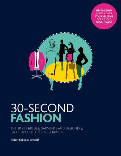 30-Second Fashion: The 50 key modes, garments, and designers, each explained in half a minute - 30 Second (Paperback)