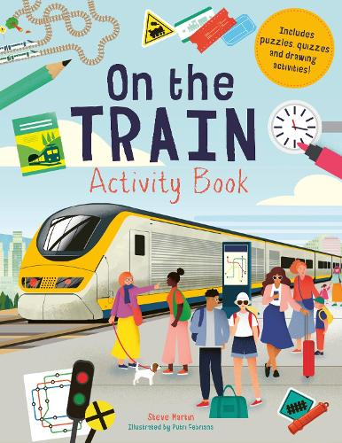 On the Train Activity Book (Paperback)