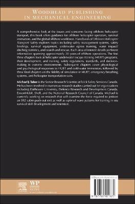 Handbook of Offshore Helicopter Transport Safety: Essentials of Underwater Egress and Survival (Hardback)