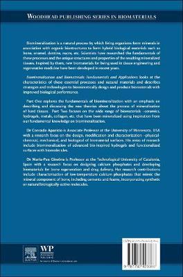 Biomineralization and Biomaterials: Fundamentals and Applications - Woodhead Publishing Series in Biomaterials (Hardback)
