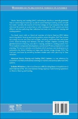 Advanced District Heating and Cooling (DHC) Systems - Woodhead Publishing Series in Energy (Hardback)