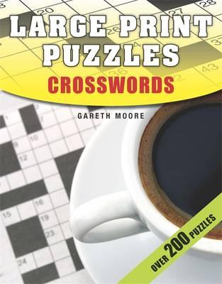 Large Print Puzzles: Crosswords (Paperback)