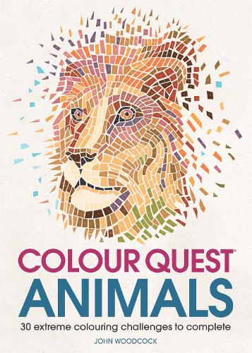 Colour Quest Animals: 30 Extreme Colouring Challenges to Complete - Colour Quest (Paperback)