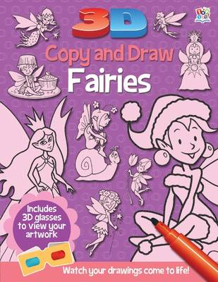 3D Copy and Draw Fairies - 3D Copy and Draw