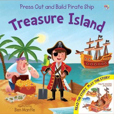 Treasure Island - Junior Press Out and Build (Hardback)