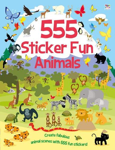 555 Sticker Fun Animals - 555 Sticker Fun (Paperback)