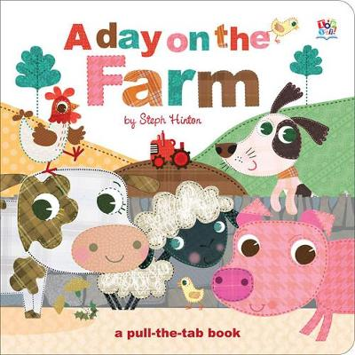 A Day on the Farm - Pull-the-Tab Books (Board book)