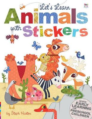 Let's Learn Animals with Stickers - Let's Learn  Sticker Books (Paperback)