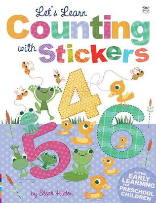 Let's Learn Counting with Stickers - Let's Learn  Sticker Books (Paperback)