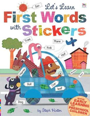 Let's Learn First Words with Stickers - Let's Learn  Sticker Books (Paperback)