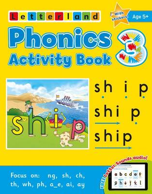 Phonics Activity Book 3 (Paperback)