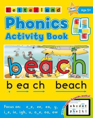 Phonics Activity Book 4 (Paperback)