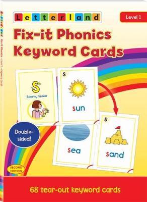 Fix-it Phonics - Level 1 - Keyword Cards (2nd Edition) (Paperback)