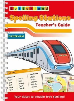 Spelling Stations 1 - Teacher's Guide (Spiral bound)