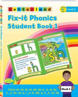 Fix-it Phonics - Level 2 - Student Book 1 (2nd Edition) (Paperback)