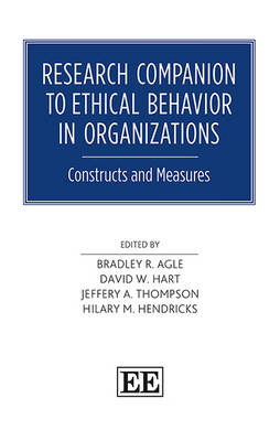 Research Companion to Ethical Behavior in Organizations: Constructs and Measures (Hardback)