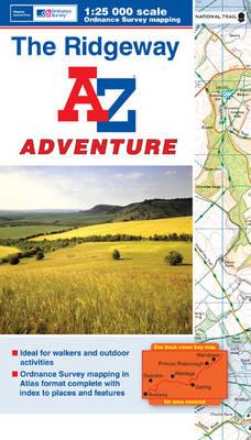 The Ridgeway Adventure Atlas - A-Z Adventure Atlas (Paperback)