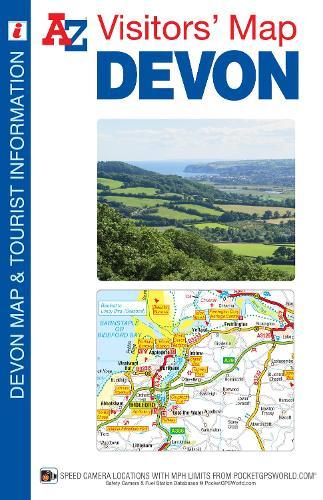 Devon Visitors Map - A-Z Visitors Map (Sheet map, folded)