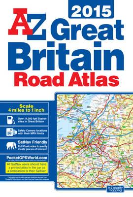 Great Britain 4m Road Atlas 2015 (Paperback)
